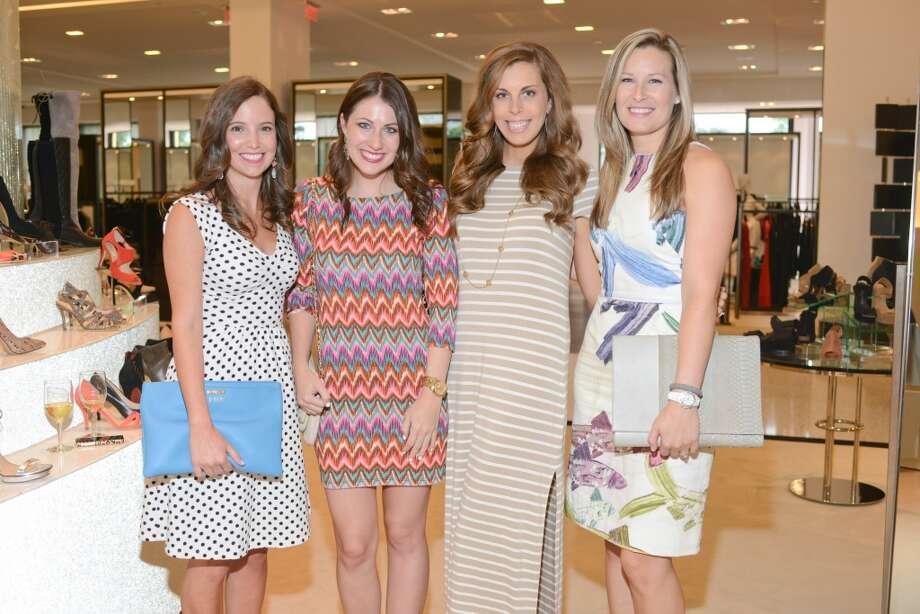 Kim Myers, Brittany Boone,  Kate Blue, Bethany Buchanan Photo: Daniel Ortiz