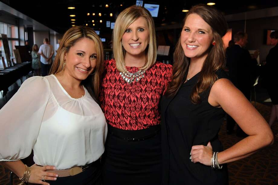 From left: Marisa Ehrich, Courtney Aldrich and Tina MacArthur Photo: Dave Rossman, For The Houston Chronicle