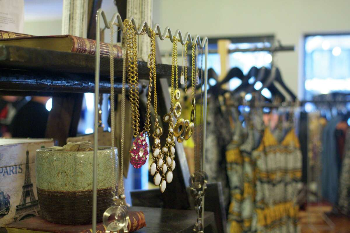 Jewelry at Asmbly Hall boutique on Fillmore.
