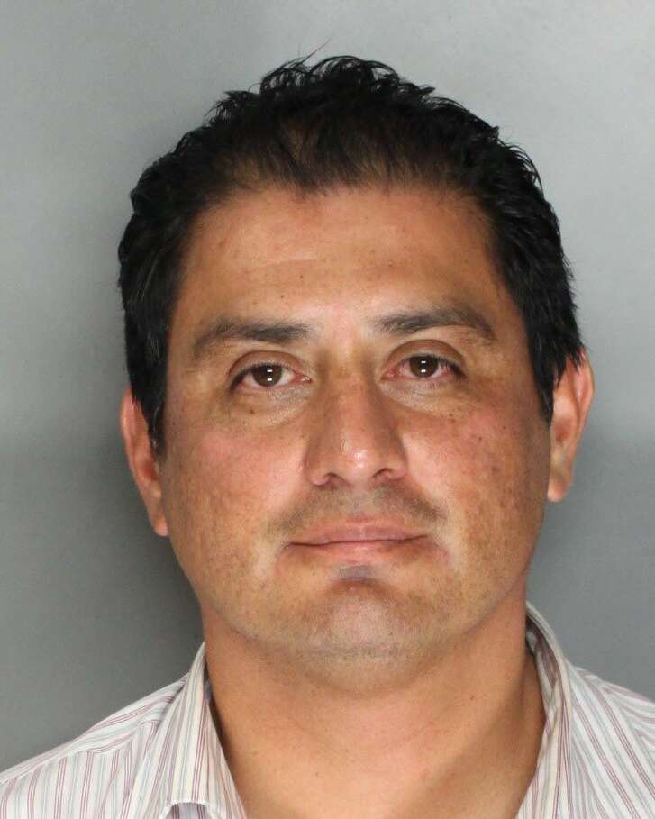 Benjamin Hueso, 44, of San Diego, Calif. was charged with two misdemeanor DUI related charges in Sacramento, Calif. on August 22, 2014.