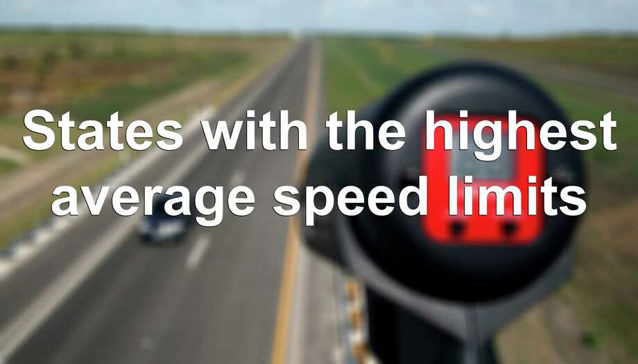 According to cars.com, Texans fly when it comes to driving speeds. The average combined speed limit of Texas' rural, urban and access roads comes to a blazing 78 mph. Find out what other states put the pedal to the medal. Photo: William Luther, CQ / San Anotnio Express-News