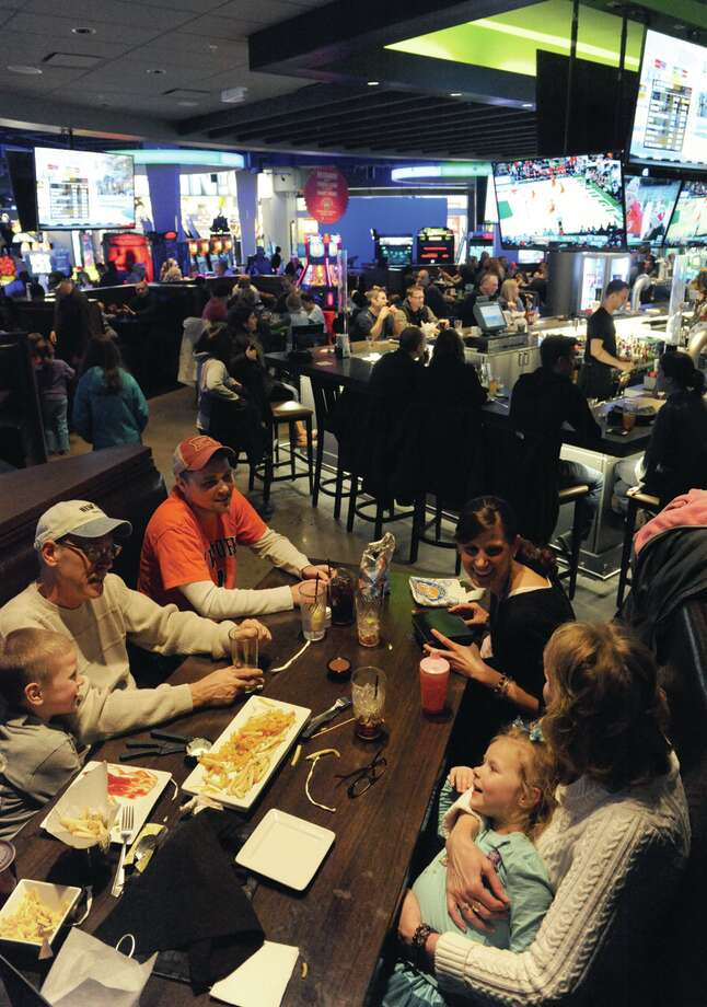 Have lunch at Dave & Buster's at Crossgates Guilderland, N.Y. (Michael P. Farrell/Times Union) Photo: Michael P. Farrell / 00025504A