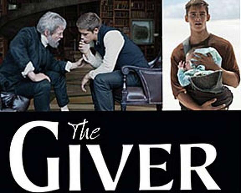 "The movie version of the novel, ""The Giver,"" is now playing in area theaters. Photo: Contributed Photo / Westport News"
