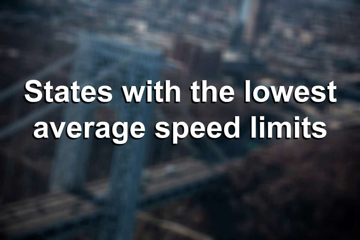 These are the slowest states in the nation, based on the allowable speeds on its rural interstates, urban interstates and other limited access roads.