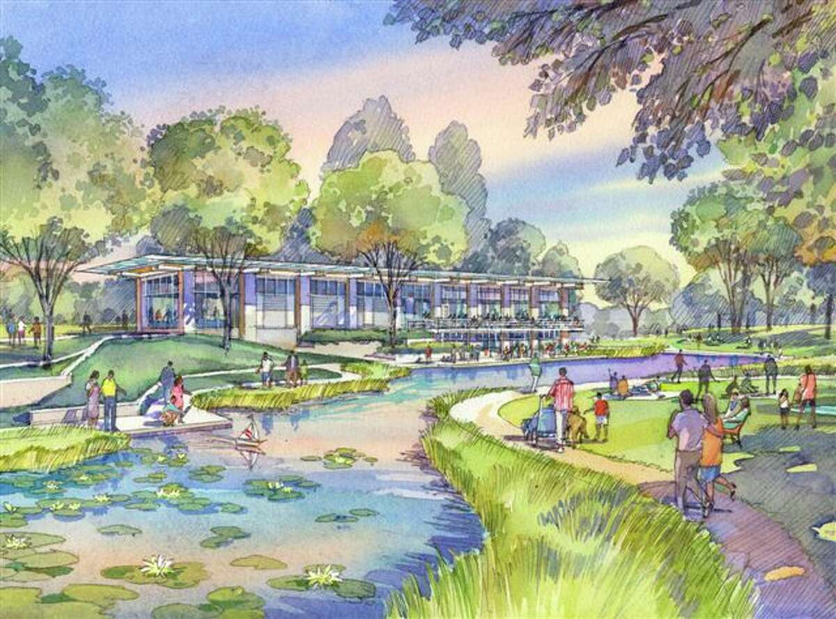 The Dunlavy will be a grab-and-go food service and private event space in Buffalo Bayou Park. The Dunlavy is expected to open next June. (Buffalo Bayou Partnership image)