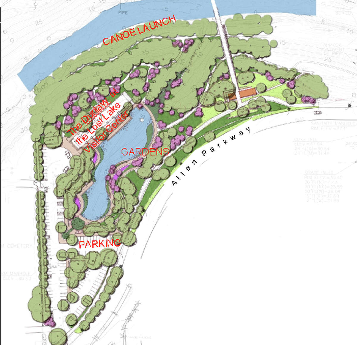 The building housing the Dunlavy will also contain the Buffalo Bayou Park visitors center and a boat rental facility. It will have 80 parking spaces.