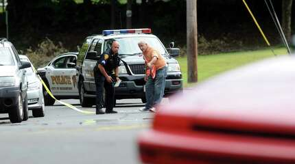 A female pedestrian is critical after being struck by a motor vehicle on Madison Avenue Friday, Aug. 22, 2014. The incident happened just before 12:30 p.m. near 2959 Madison Ave.