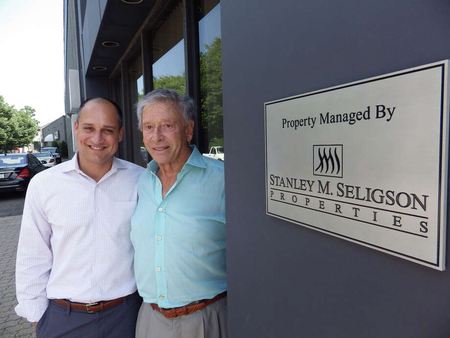 Jeffrey Kaplan and Stanley Seligson in Norwalk. Photo: Contributed Photo, Fairfield County Business Journa / Fairfield County Business Journal Connecticut Post Contributed