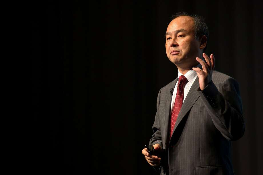 Billionaire Masayoshi Son, chairman and chief executive officer of SoftBank Corp., speaks during a news conference in Tokyo, Japan, on Friday, Aug. 8, 2014. SoftBank, the Japanese wireless carrier led by Son, posted profit that missed estimates as subscriber growth slowed with NTT Docomo Inc. offering discounted calling plans. Photographer: Noriyuki Aida/Bloomberg *** Local Caption *** Masayoshi Son Photo: Noriyuki Aida, Bloomberg