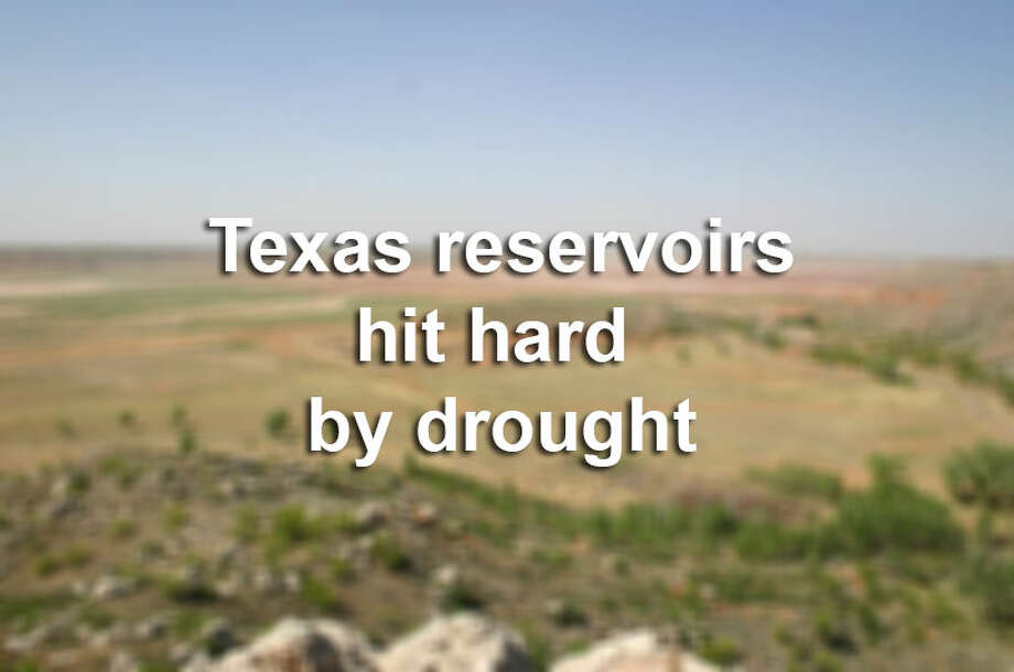See where Texas' major reservoirs were at in the drought of 2014 