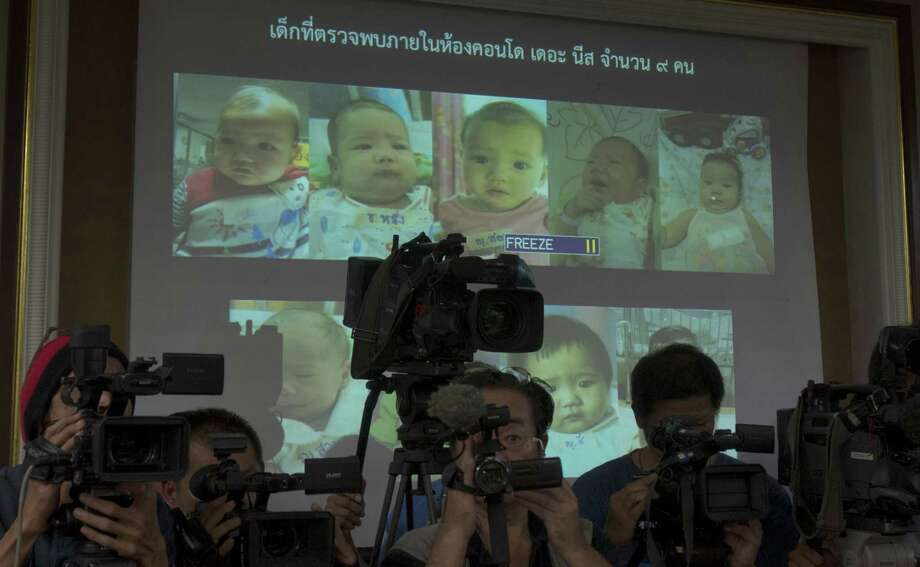 Mitsutoki Shigeta has fathered 16 children, 12 of whom are being cared for by Thailand social services. Shigeta allegedly told fertility clinic officials there that he wanted to have 10 to 15 babies a year. Photo: Sakchai Lalit, STF / AP