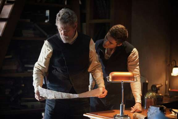 """Jeff Bridges and Brenton Thwaites star in """"The Giver."""""""