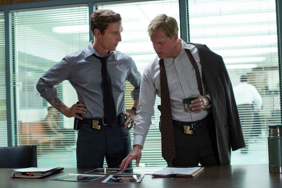 """Matthew McConaughey, left, and Woody Harrelson were nominated for Emmy Awards for Best Actor in a Drama for their roles in """"True Detective."""" Photo: Michele K. Short, HOEP / HBO"""