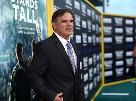 "HOLLYWOOD, CA - AUGUST 04:  Former football coach Bob Ladouceur attends the premiere of Tri Star Pictures' ""When The Game Stands Tall"" at ArcLight Cinemas on August 4, 2014 in Hollywood, California.  (Photo by Christopher Polk/Getty Images)"