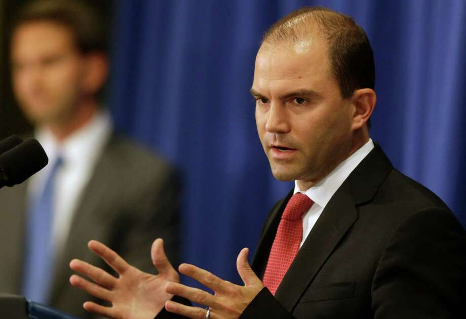 "Deputy National Security Adviser Ben Rhodes told reporters that the U.S. is  ""going to come after"" Islamic militants. Photo: Steven Senne, STF / AP"