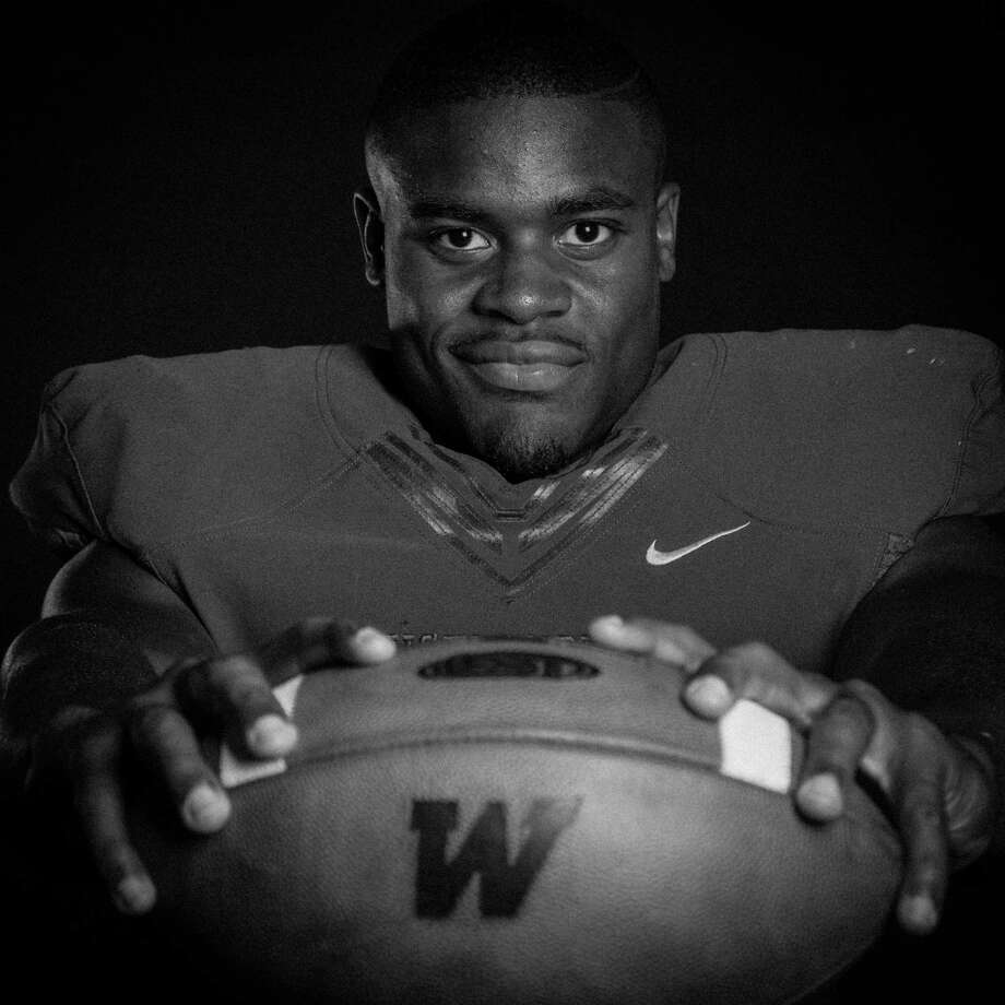 The 2014 running back elite of the Houston area.The Woodlands High school's Patrick Carr. (Billy Smith II / Houston Chronicle) Photo: Billy Smith II / © 2014 Houston Chronicle