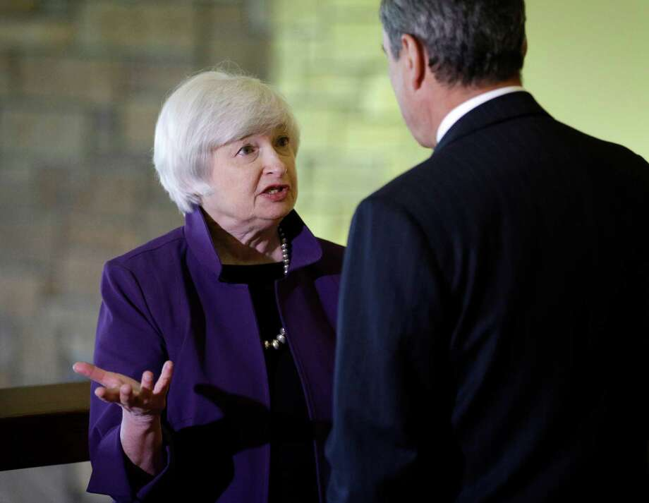 Janet Yellen on Friday addressed the difficulty the Fed faces in trying to determine the relative health of the job market given the damage caused by the recession. Photo: John Locher, STF / AP