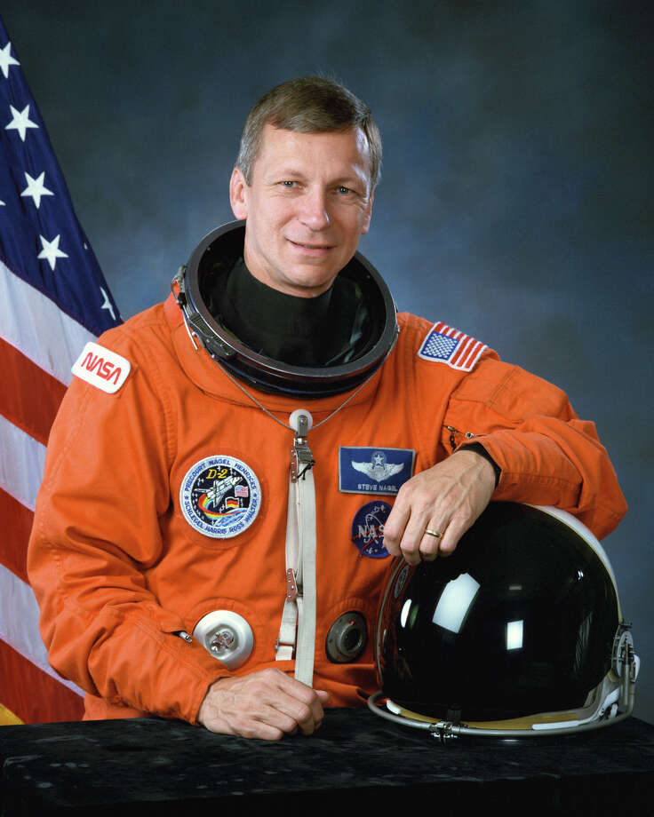 NASA astronaut Steven R. Nagel was a mission specialist on his first space shuttle flight, pilot on his second and the commander on his last two missions. (NASA photo) / handout