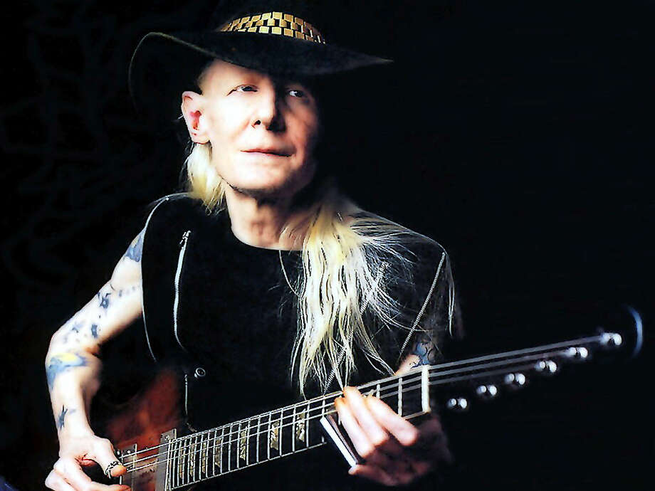 Johnny Winter, Oct. 19 Photo: Courtesy