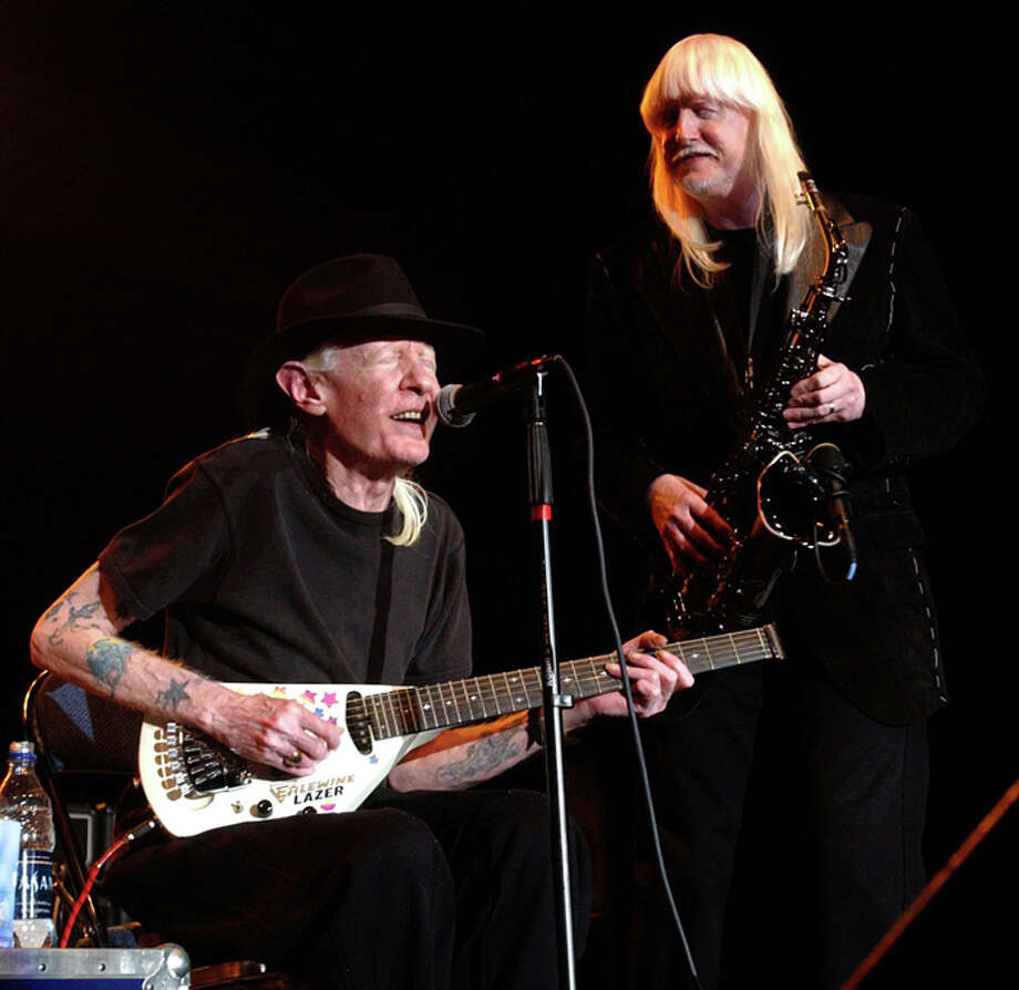 Johnny and Edgar Winter are from Beaumont.  (Enterprise file art) Photo: File / Beaumont