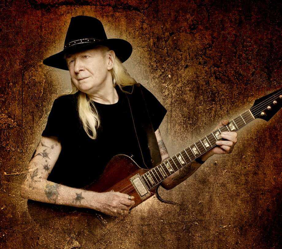 Johnny Winter. Photo courtesy of the artist's management