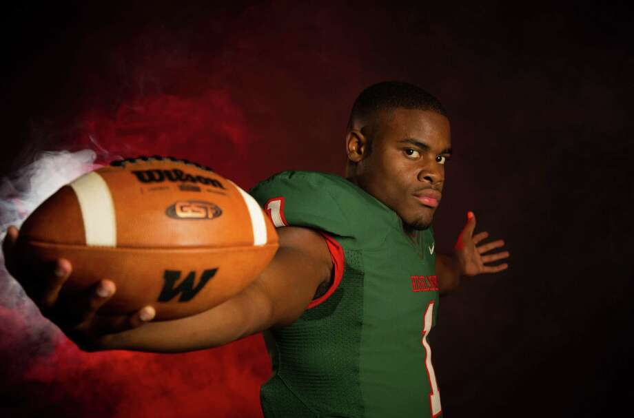 The 2014 running back elite of the Houston area.The Woodlands High school's Patrick Carr. Photo: Billy Smith II, Chronicle / © 2014 Houston Chronicle