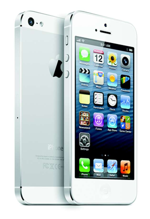A file photo of the Apple 5s. Apple will be releasing its newest iPhone on Sept. 9th