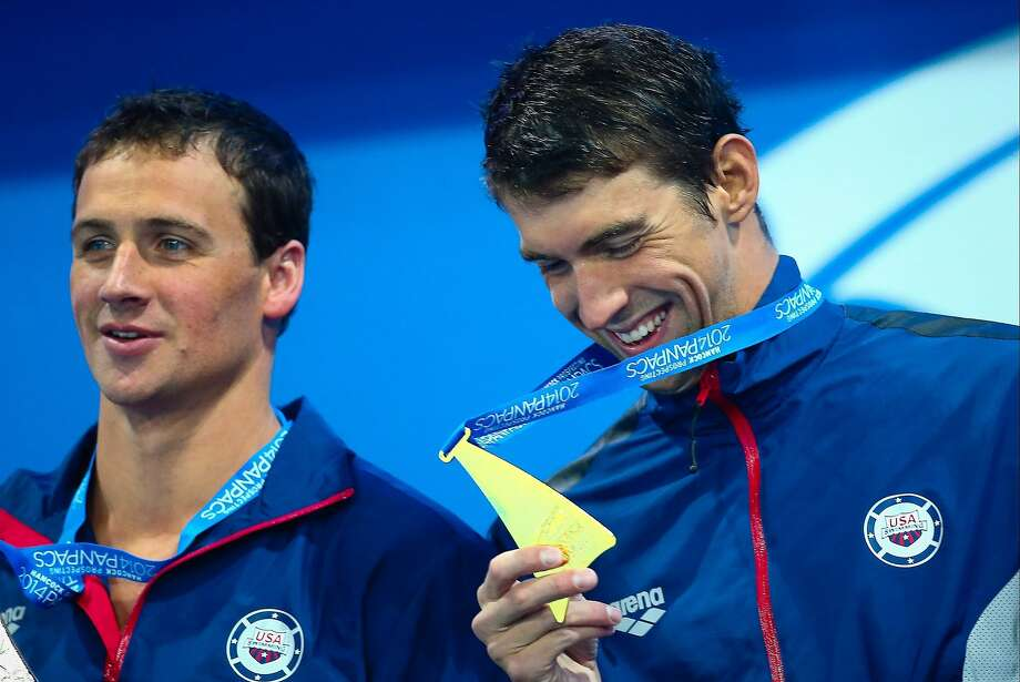 Michael Phelps is glad to be a gold-medal winner again. Photo: Patrick Hamilton, AFP/Getty Images