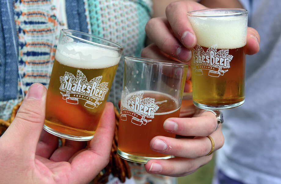 The Shakesbeer Festival held on the grounds of the American Shakespeare Festival Theater in Stratford, Conn. on Saturday August 23, 2014. The festival showcases fine craft beers from around Connecticut as well as nearby states. Photo: Christian Abraham / Connecticut Post