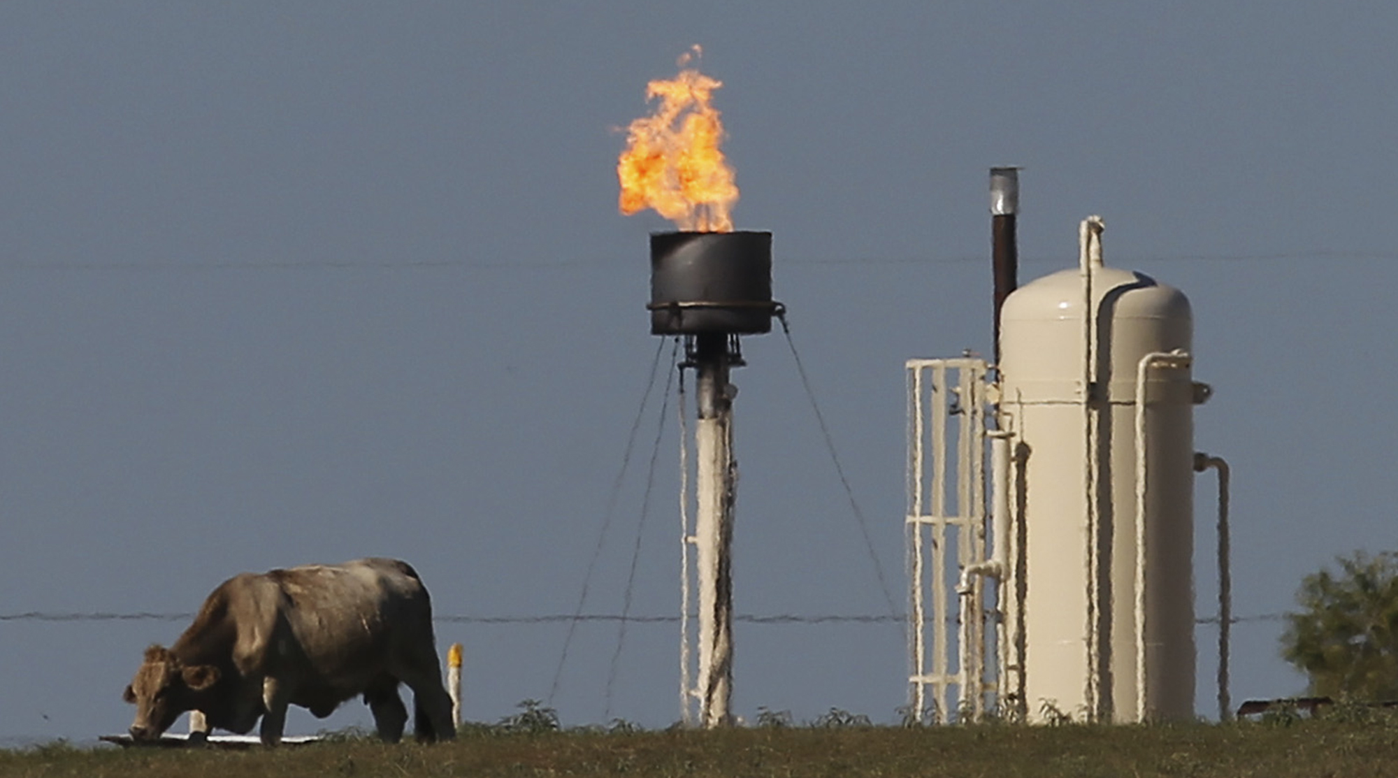 Thirsty for oil energy companies wasting less valuable