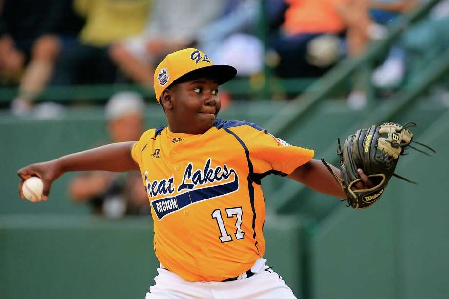 Joshua Houston played key roles on the mound and at the plate in Chicago's 7-5 victory over Las Vegas in the U.S. final of the Little League World Series. Photo: Rob Carr, Staff / 2014 Getty Images