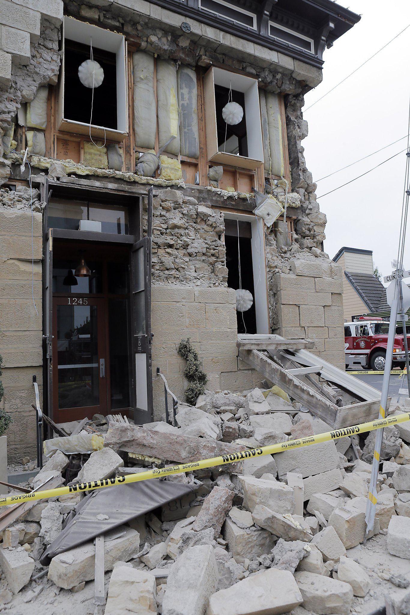 Napa Earthquake Exposes Dangers Found In Homes Shops