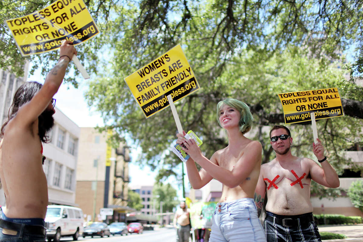 Denver Go Topless Cleaves Through Downtown