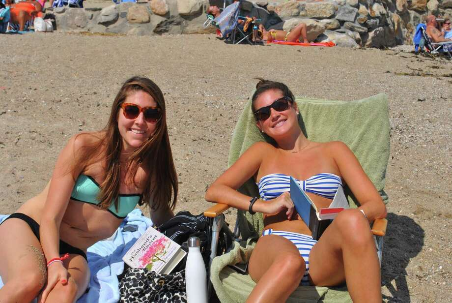 Beach goers at Tod's Point Beach in Greenwich took advantage of the summer  weather on Sunday, August 24. Were you SEEN? Photo: Lauren Stevens/Hearst Connecticut Media Group