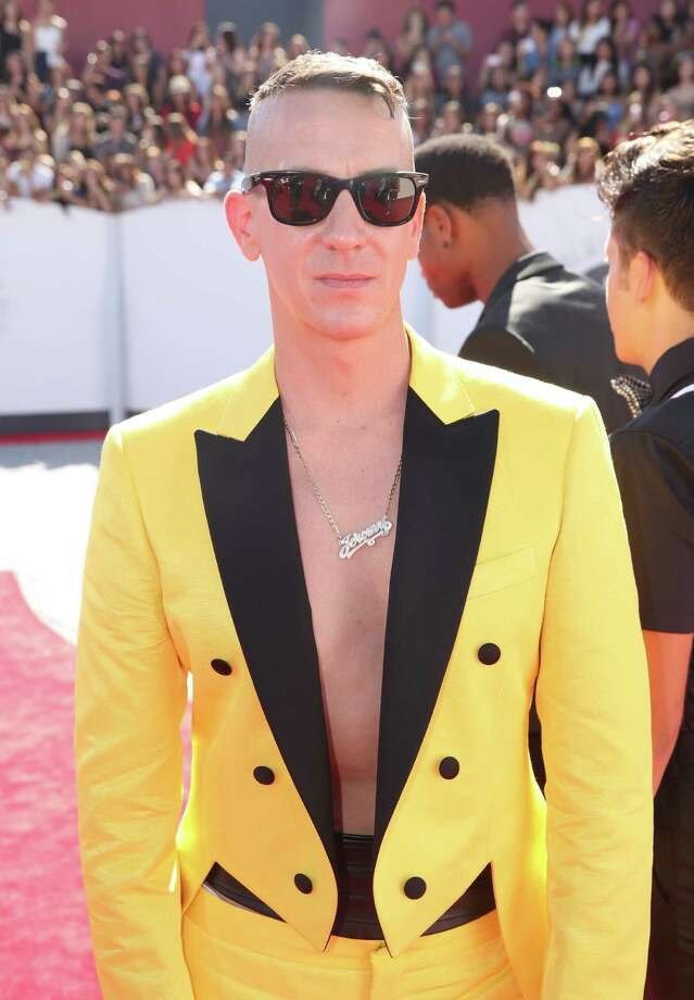 Jeremy Scott arrives at the MTV Video Music Awards at The Forum on Sunday, Aug. 24, 2014, in Inglewood, Calif. Photo: Matt Sayles, AP / Invision