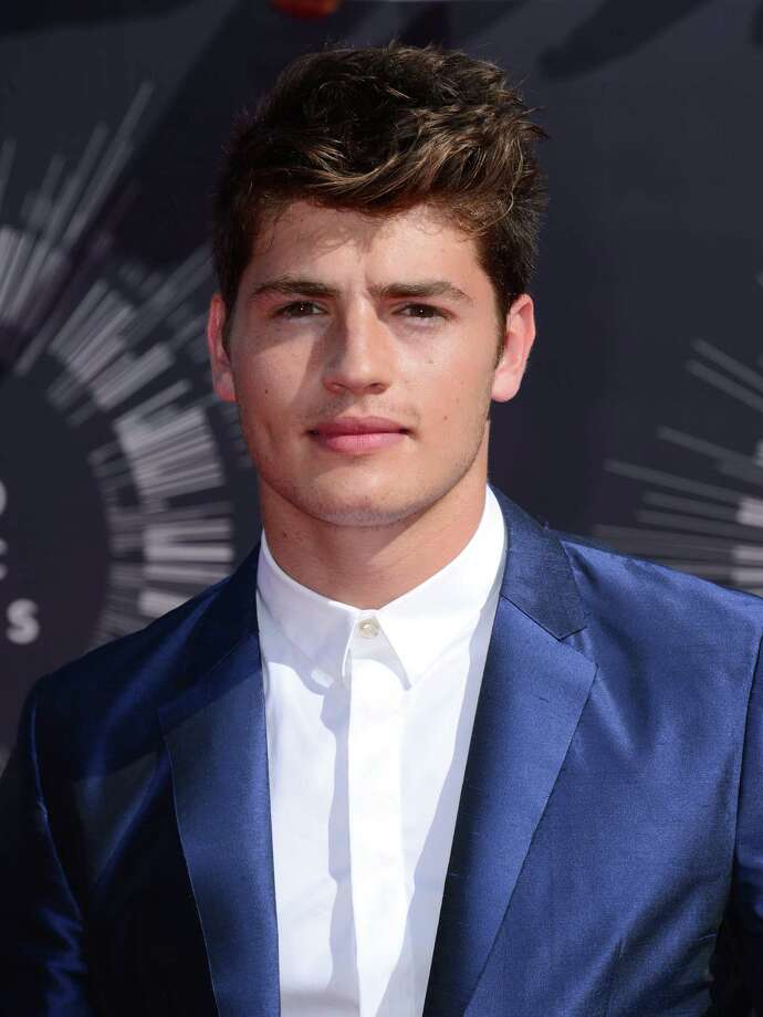 Gregg Sulkin arrives at the MTV Video Music Awards at The Forum on Sunday, Aug. 24, 2014, in Inglewood, Calif. Photo: Jordan Strauss, AP / Invision
