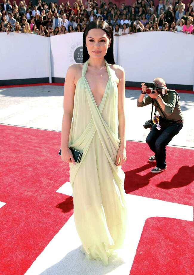 Jessie J arrives at the MTV Video Music Awards at The Forum on Sunday, Aug. 24, 2014, in Inglewood, Calif. Photo: Matt Sayles, AP / Invision