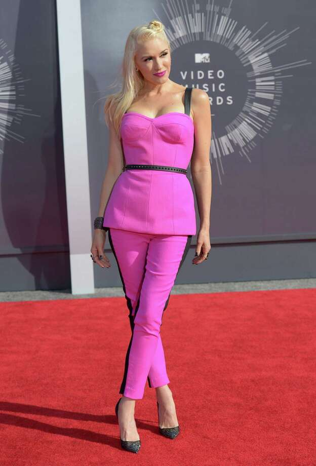 Gwen Stefani arrives at the MTV Video Music Awards at The Forum on Sunday, Aug. 24, 2014, in Inglewood, Calif. Photo: Jordan Strauss, AP / Invision