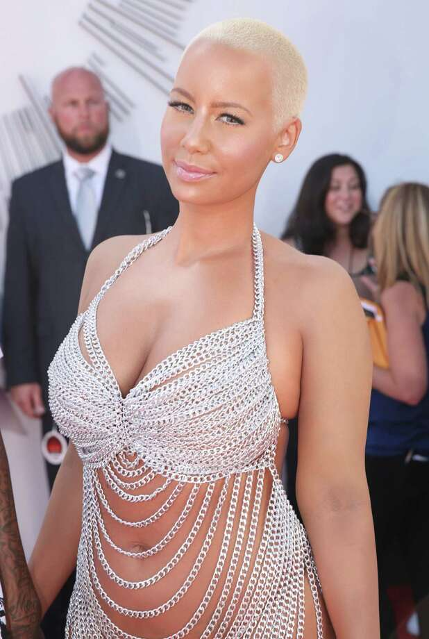 Amber Rose arrives at the MTV Video Music Awards at The Forum on Sunday, Aug. 24, 2014, in Inglewood, Calif. Photo: Matt Sayles, AP / Invision