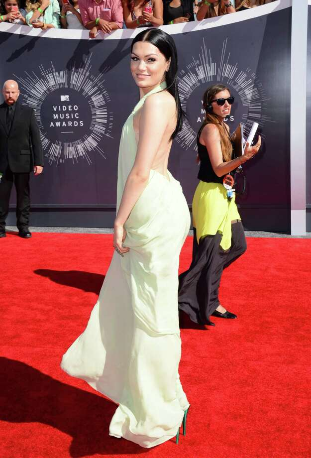 Jessie J arrives at the MTV Video Music Awards at The Forum on Sunday, Aug. 24, 2014, in Inglewood, Calif. Photo: Jordan Strauss, AP / Invision