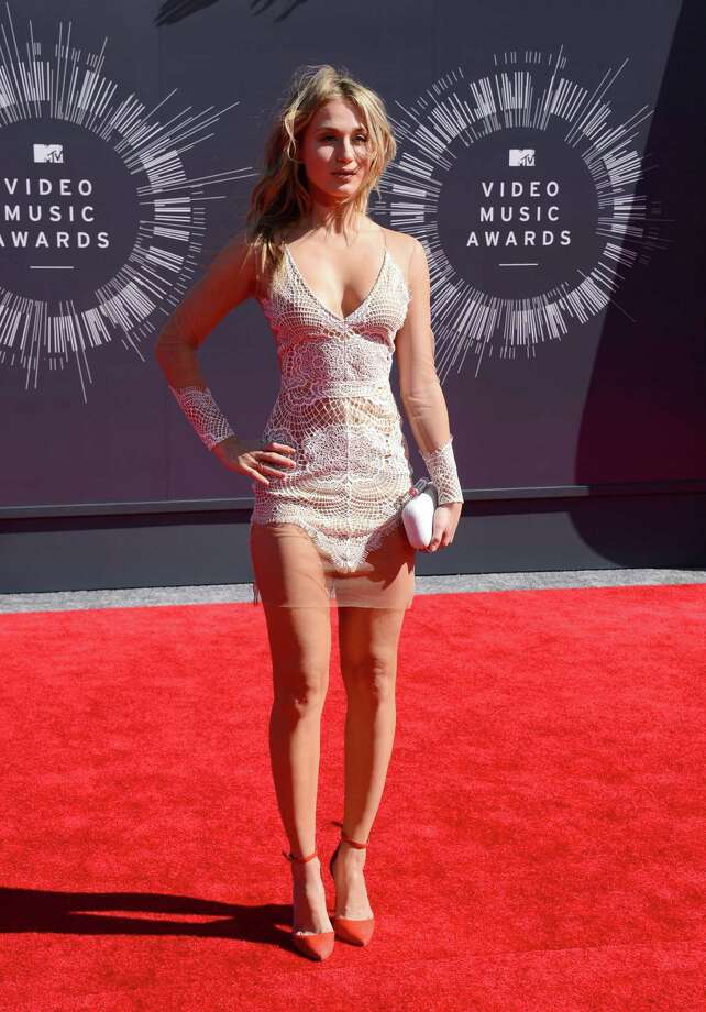 Rita Volk arrives at the MTV Video Music Awards at The Forum on Sunday, Aug. 24, 2014, in Inglewood, Calif. Photo: Jordan Strauss, AP / Invision