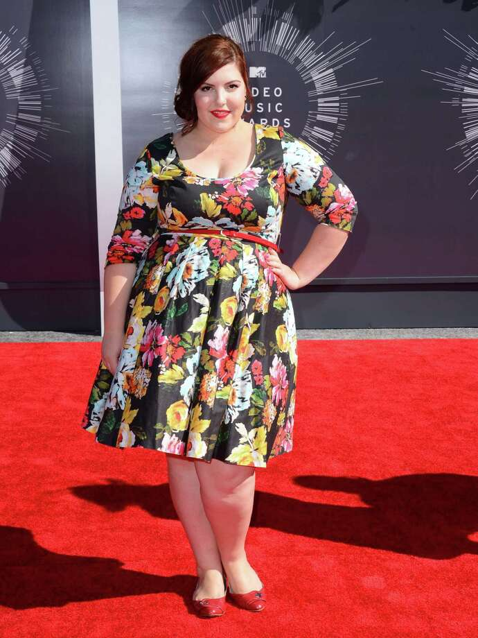 Mary Lambert arrives at the MTV Video Music Awards at The Forum on Sunday, Aug. 24, 2014, in Inglewood, Calif. Photo: Jordan Strauss, AP / Invision
