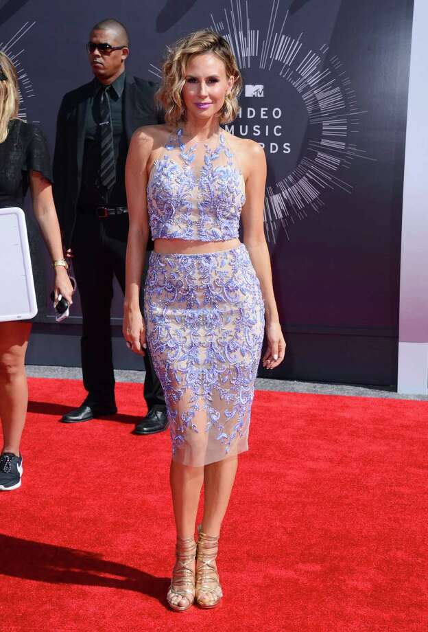 Keltie Knight arrives at the MTV Video Music Awards at The Forum on Sunday, Aug. 24, 2014, in Inglewood, Calif. Photo: Jordan Strauss, AP / Invision