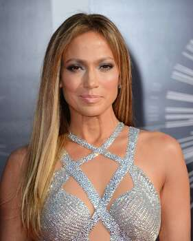 Jennifer Lopez arrives at the MTV Video Music Awards at The Forum on Sunday, Aug. 24, 2014, in Inglewood, Calif. (Photo by Jordan Strauss/Invision/AP) Photo: Jordan Strauss, Jordan Strauss/Invision/AP / Invision