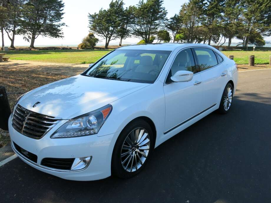 The 2014 Hyundai Equus, a luxury car from Korea. (All photos by Michael Taylor)