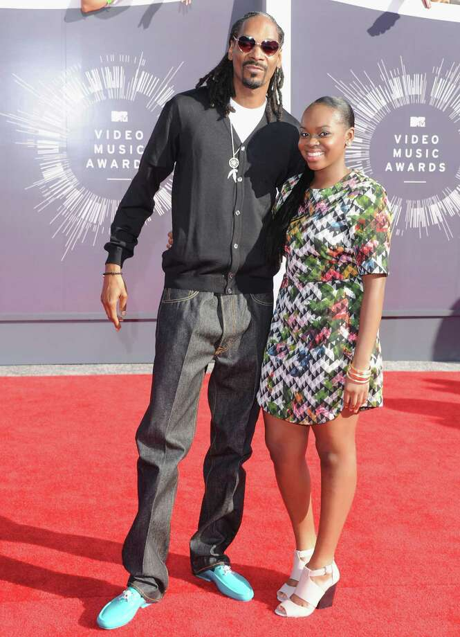 BestSnoop Dogg attends as the Mr. Rogers of hip hop (with Cori Broadus). It's not actually a bad thing for Snoop Dogg, and the blue shoes are pretty awesome. Photo: Jon Kopaloff, Getty Images / 2014 Jon Kopaloff