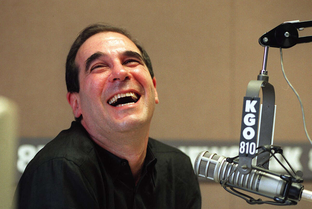 Michael Maloney KGO morning talk show host Ronn Owens shares a laugh with his friend Larry King on the air. King called to welcome Owens back. This was Owens' first day back after a three month contract holdout.