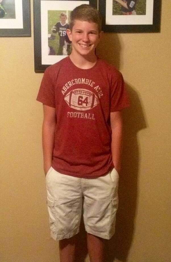 Bryce is a freshman at Port Neches-Groves High School. Photo: Monique Batson. Photo: Courtesy
