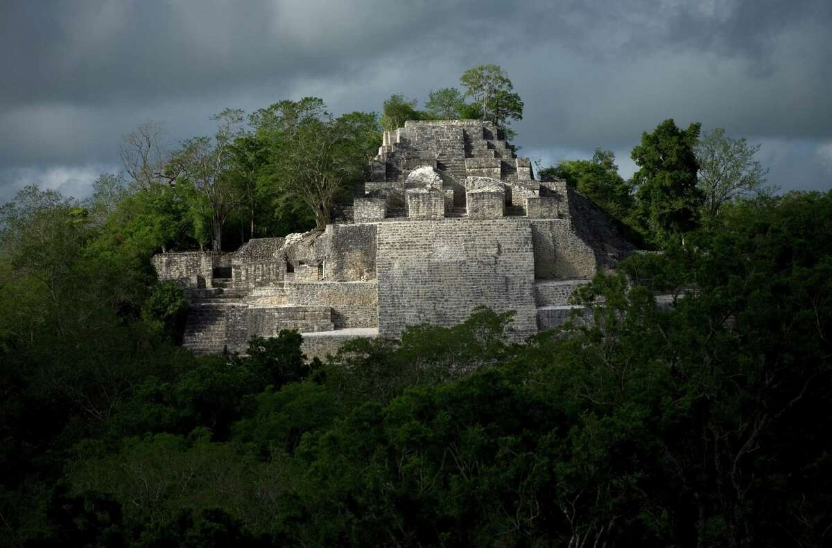 2. Campeche. Pictured, the Mayan ruins of Calakmul.