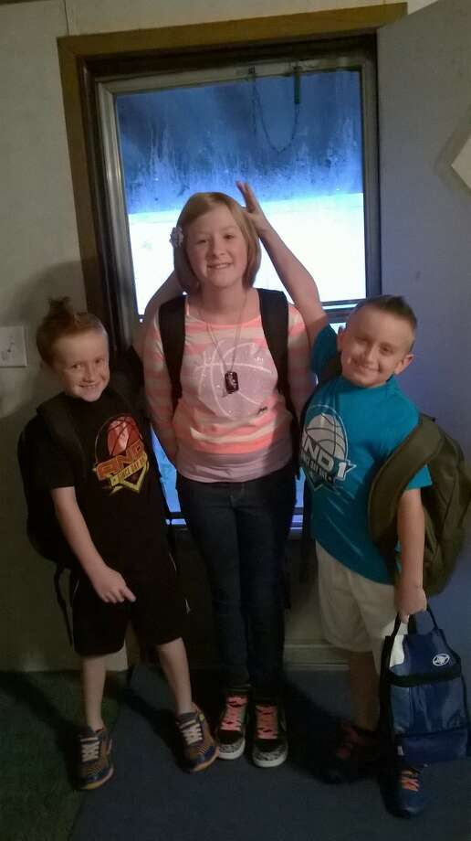 Angel, 6th grade, Austin, 4th grade and Ashton, 2nd grade in Lumberton ISD.